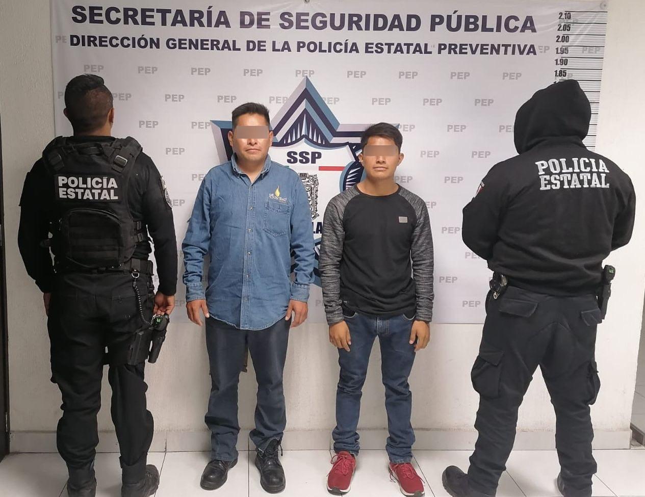 Detiene SSP a presuntos huachigaseros
