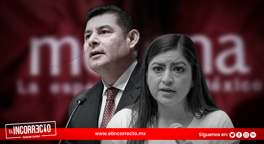 """""""Apoyo a Morena y a sus candidatos"""": Armenta se deslinda de Claudia Rivera"""