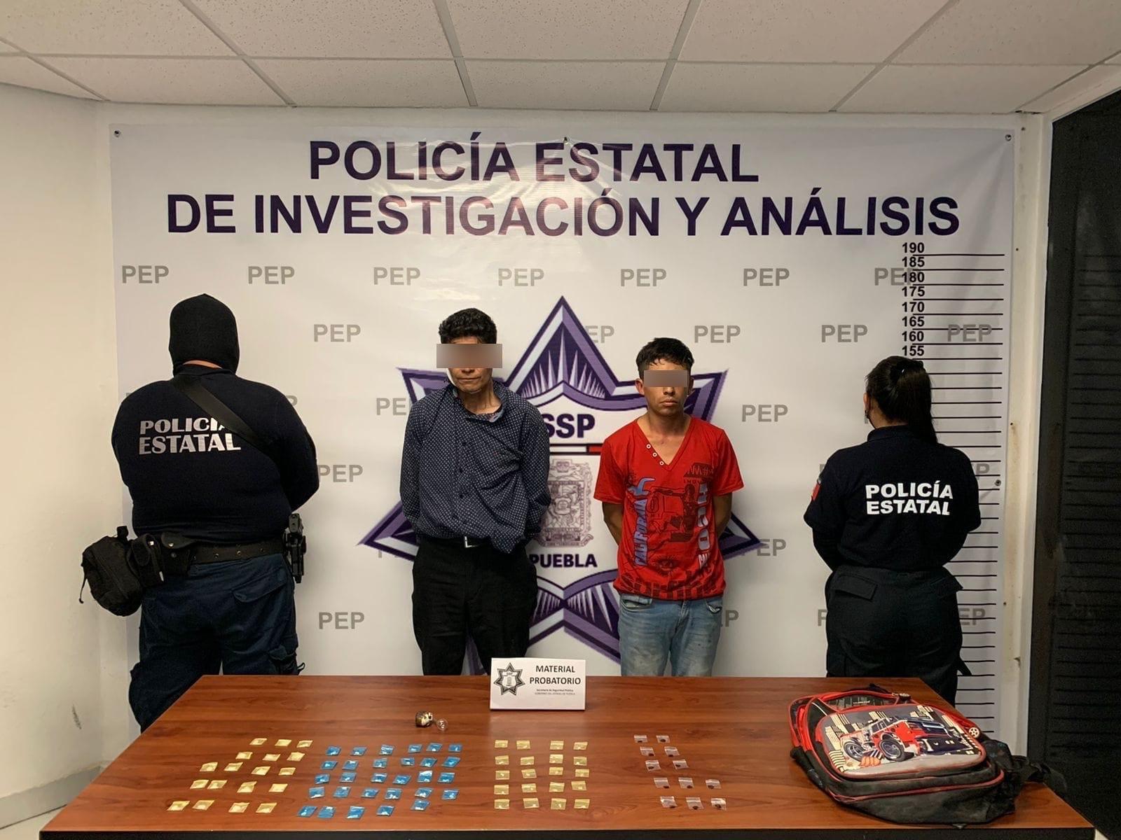 """Detiene SSP a dos presuntos distribuidores de droga de """"El Pelón del Sur"""""""