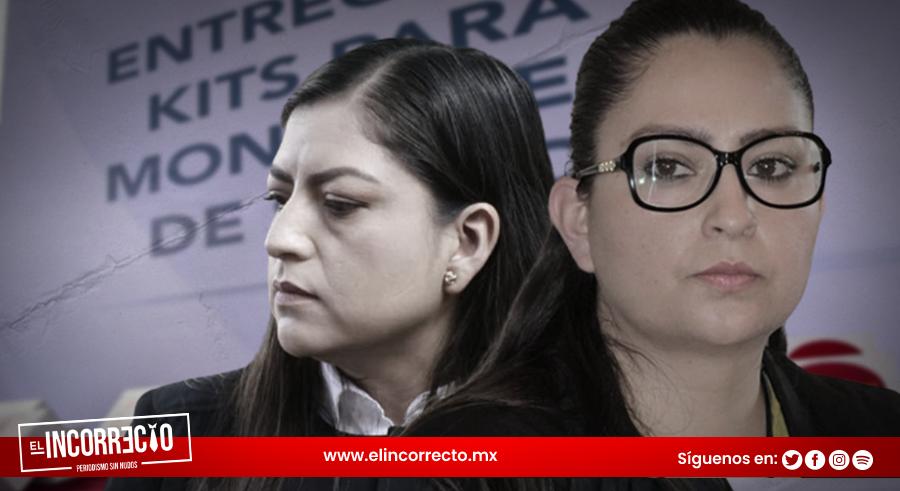 Casi año y medio después, Claudia Rivera y su hermana entregan kits para prevenir Covid (+FOTOS)