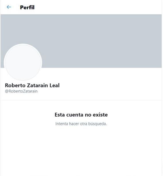 Roberto Zatarain perfil
