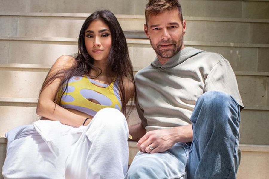 Ricky Martin y Paloma Mami