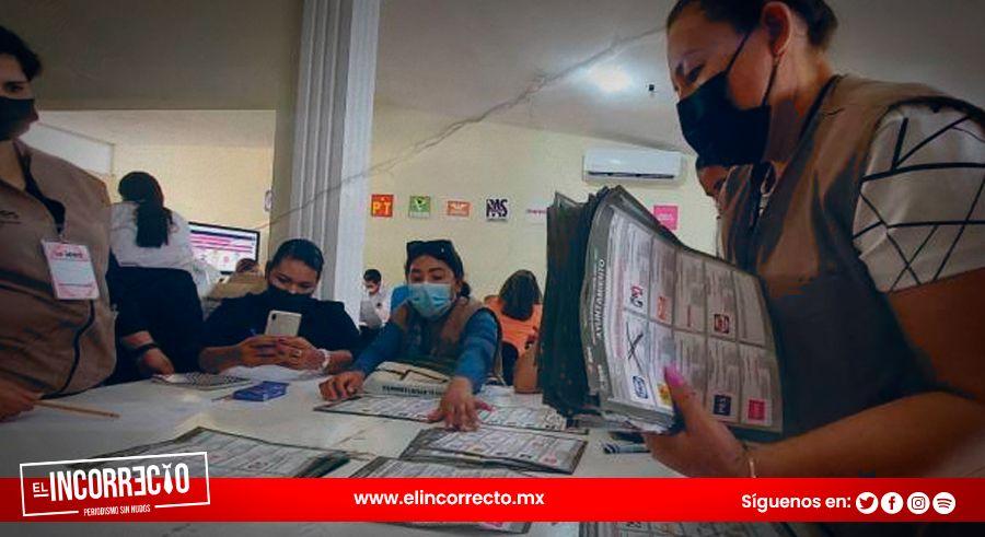 Solo 60% de los consejos municipales de Puebla se han instalado para el conteo de votos
