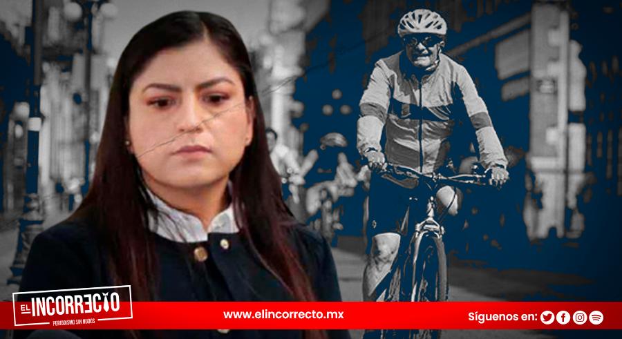 Claudia Rivera pagó 1.4 millones por la vía recreativa el año pasado y se canceló por el COVID