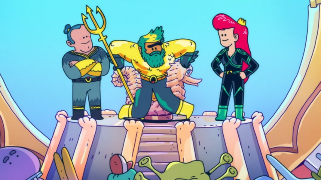 Chécate el tráiler de Aquaman: King of Atlantis