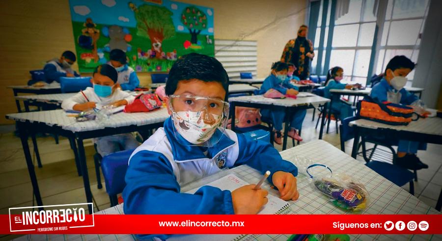 Asistió el 63% de alumnos que hay en Puebla durante primera semana de clases presenciales