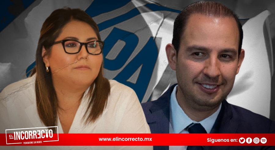 Marko Cortés confirma ruptura del PAN y justifica decisión del CEN en beneficio de Genoveva Huerta