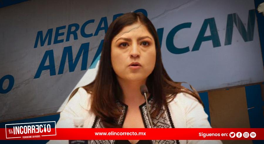 Entre cantinfleos, Rivera Vivanco se lava las manos de fracaso en remodelación de Mercado Amalucan (+VIDEO)