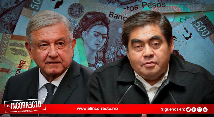 """""""Presupuesto 2022 de AMLO es benéfico para Puebla"""": Barbosa"""