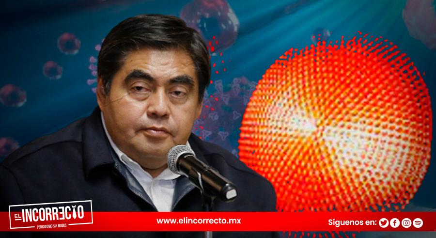 Puebla seguirá en color rojo por COVID, advierte Barbosa