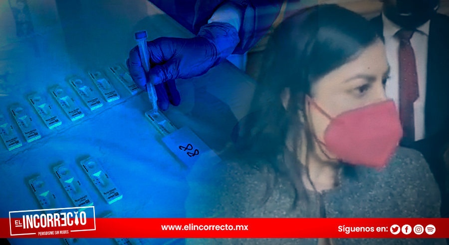 Claudia Rivera evade opinar del sobrecosto en compra millonaria de pruebas Anti-Covid