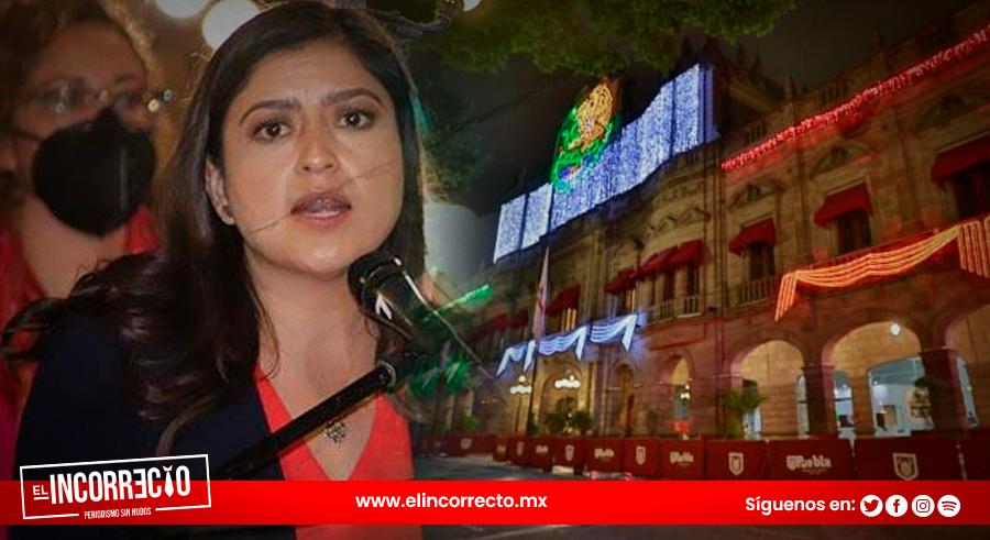 Con 440 personas será el último Grito de Independencia de Claudia Rivera