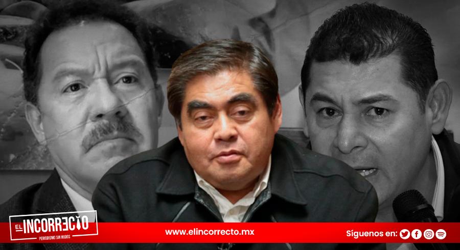 Gobernador de Puebla recomienda a Armenta y a Nacho Mier dejar malas amistades