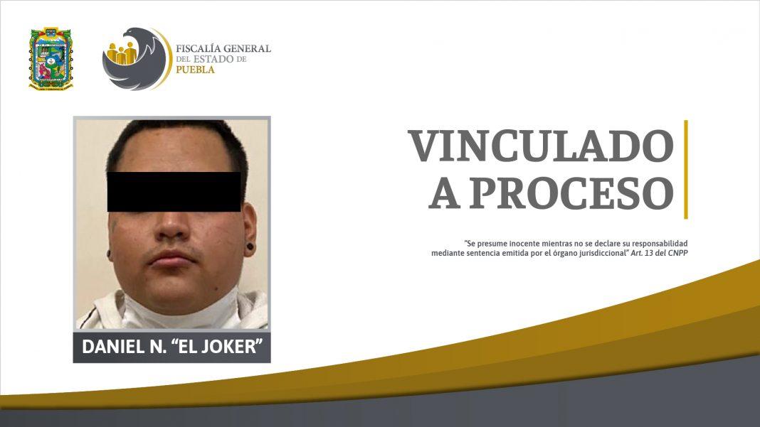 """""""El Joker"""" vinculado a proceso por el homicidio de una joven en Atlixco"""