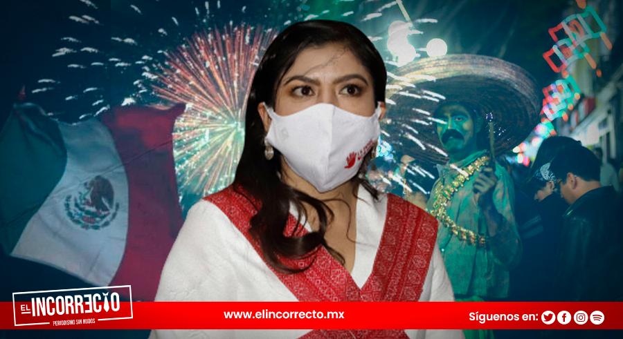 Claudia Rivera dará el Grito de Independencia con verbena popular y asistencia de los poblanos