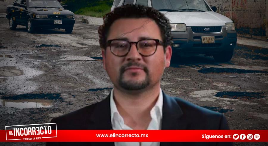 Infraestructura Municipal devolverá 95 millones de pesos pese a fiebre de baches en Puebla