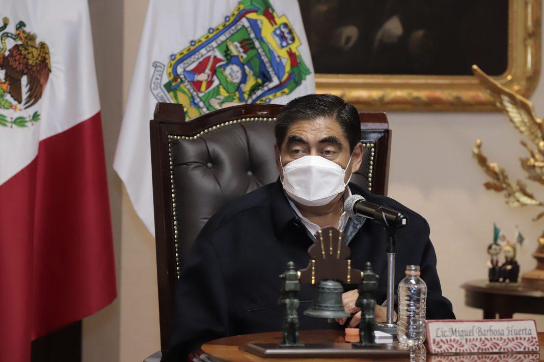Agradece MBH a AMLO por los apoyo que entregará a Puebla tras el huracán