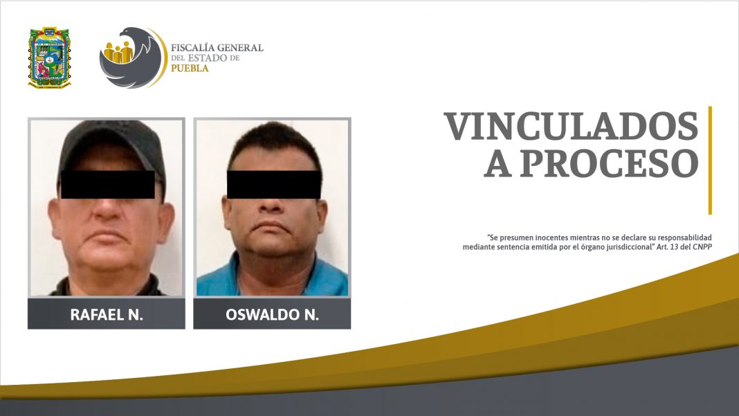 FGE obtuvo prisión de dos hombres con drogas, armas y equipo policial