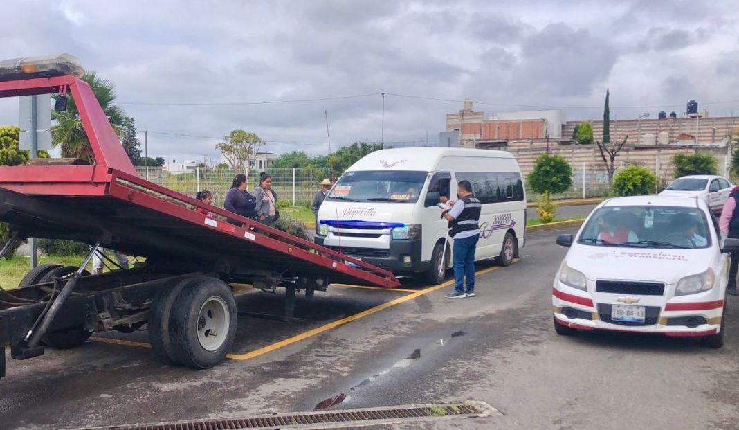 Remite SMT cinco unidades al depósito vehicular por irregularidades