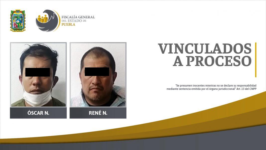 Tío y sobrino vinculados a proceso por el delito de extorsión