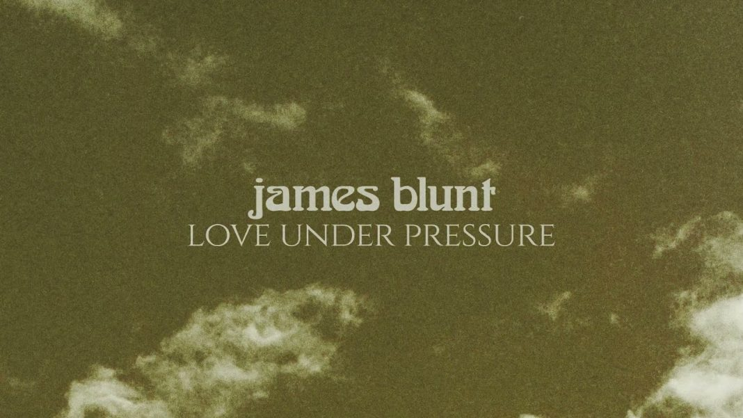 """Escucha """"Love under pressure"""", canción de James Blunt"""